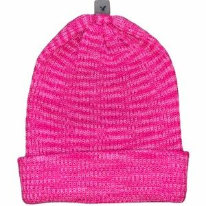 NWT American Eagle Hot Pink Beanie Slouchy Hat